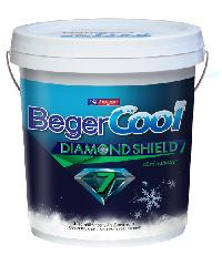 Beger สีทาฝ้า Beger Cool All Plus #3599 ถัง. สีเทา