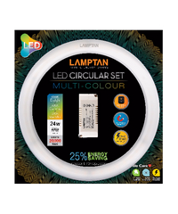 LAMPTAN LED circular set multi 24w -