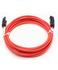 MC solar cable 4mm2 with MC4 connector   2*200*2cm CFP415-2RD
